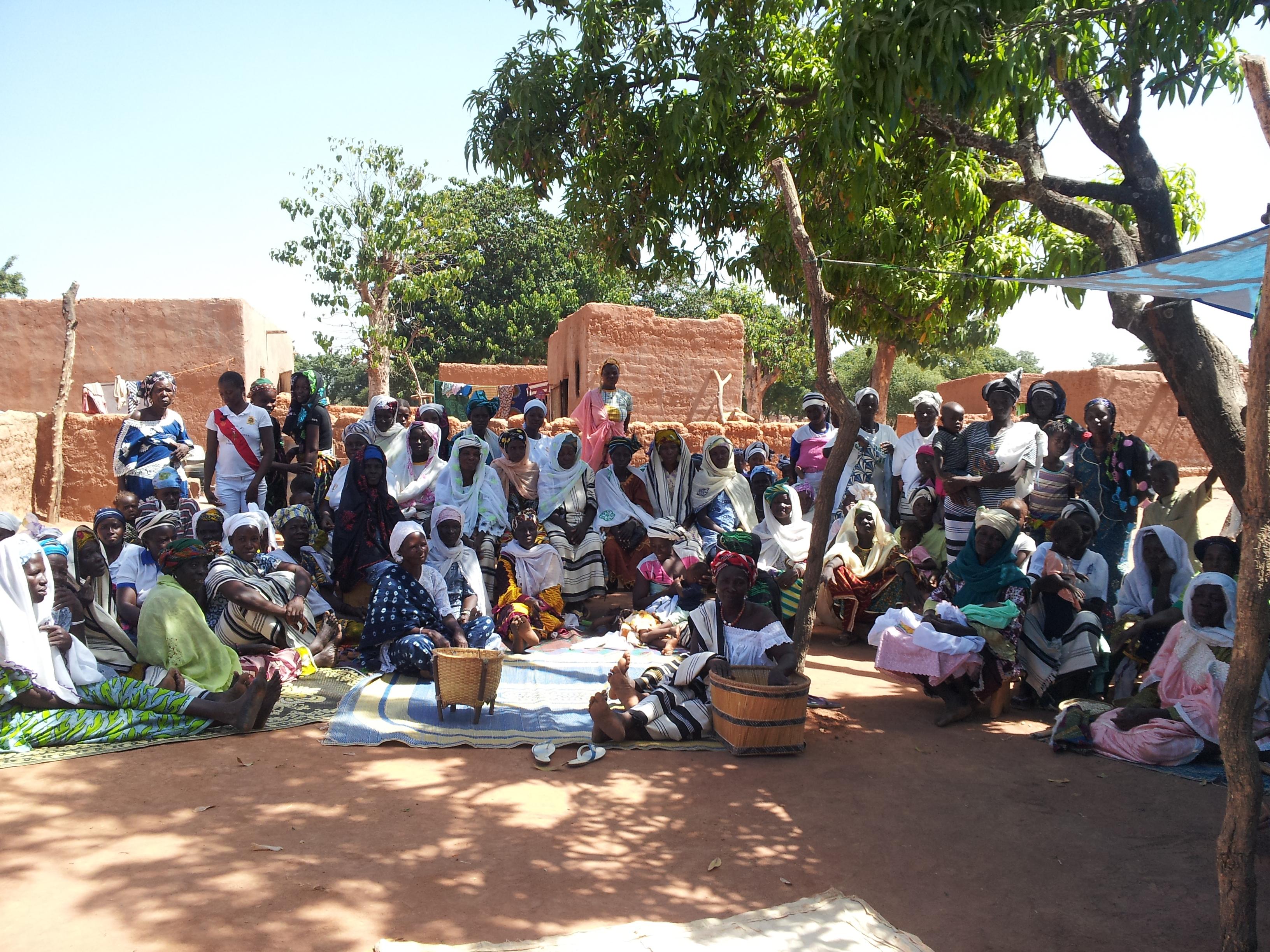Accueil africain du groupe des femmes