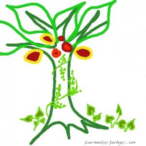 Logo projet ecosysteme fruitier GS