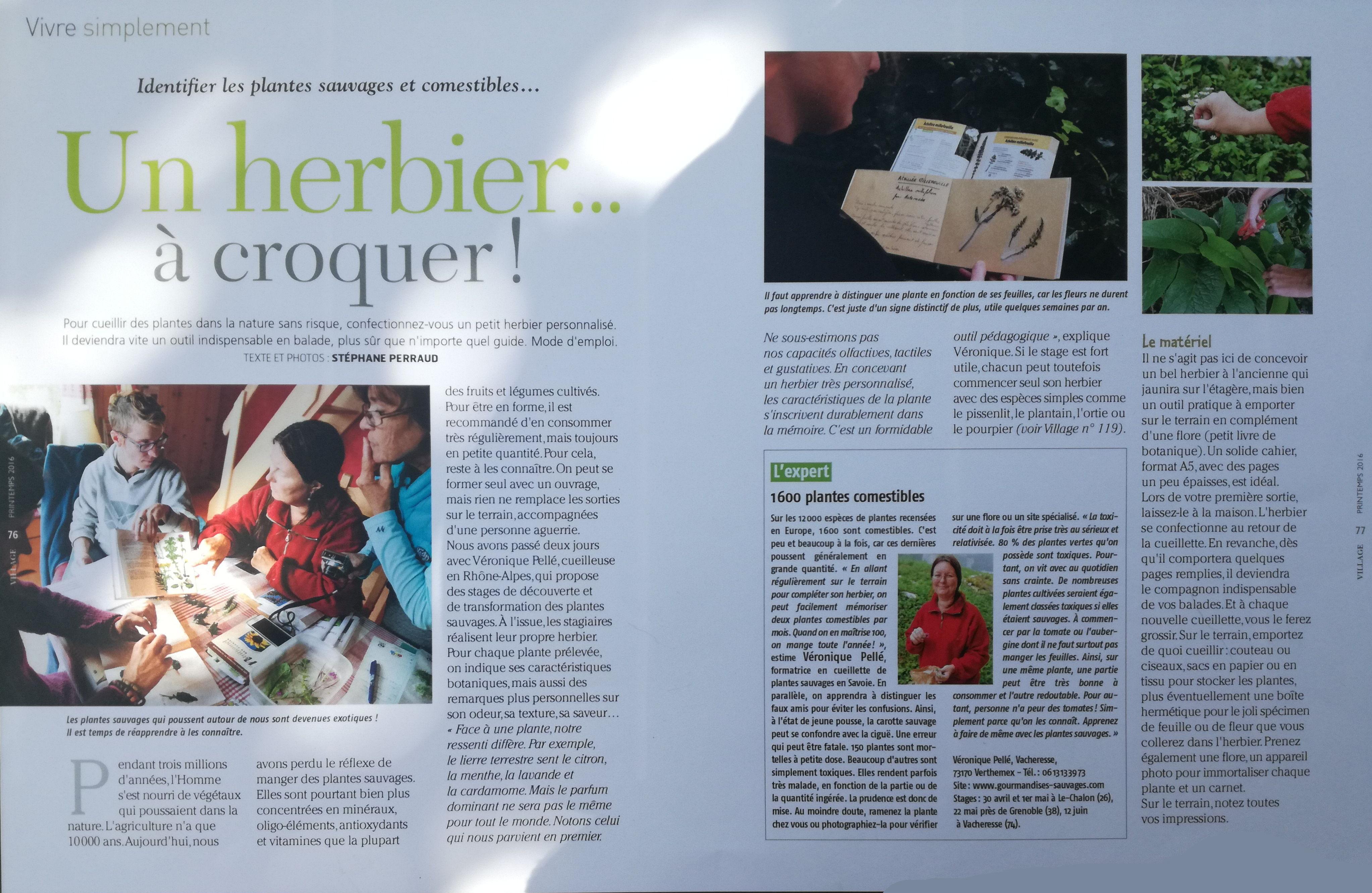Dossier Village Magazine Février 2016